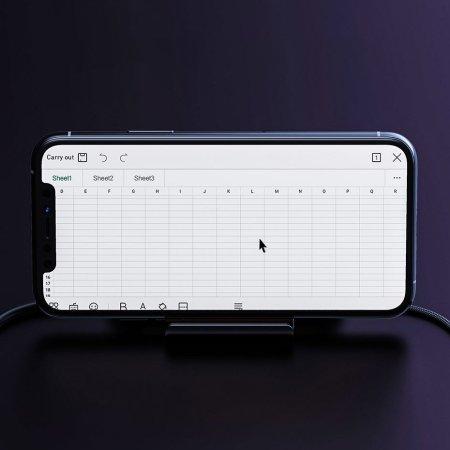 Baseus GAMO Mobile Gaming Keyboard & Mouse Hub - Black