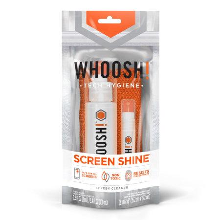 Spray nettoyant Whoosh Screen Shine GO XL pour écrans – 100ml
