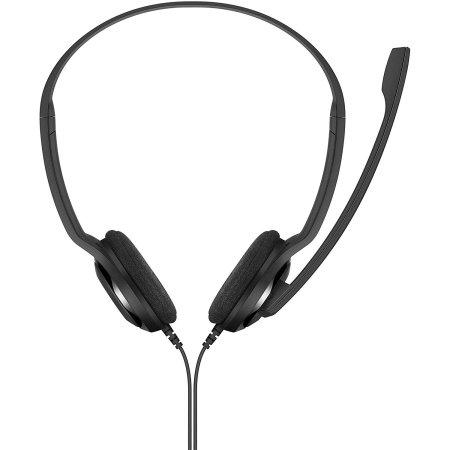 Sennheiser PC 5 Chat Headphones with Mic - Black