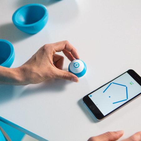 Sphero Mini Programmable App-Enabled Robot Ball - Blue
