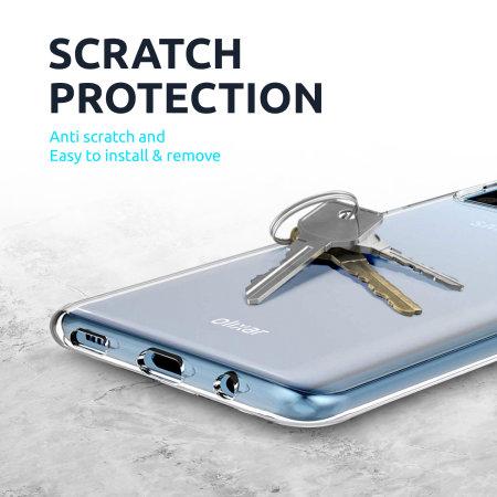 Olixar Ultra-Thin Huawei P40 Pro Case -100% Clear