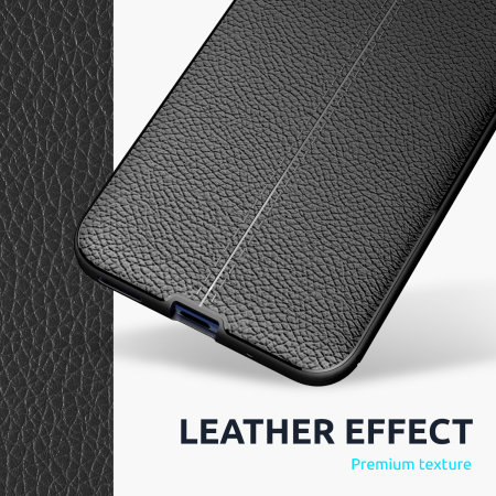 Olixar Attache Huawei P40 Leather-Style Protective Case - Black