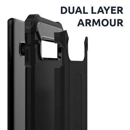 Olixar Delta Armour Protective Huawei P40 Pro Case - Gunmetal