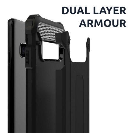 Olixar Delta Armour Protective Huawei P40 Case - Gunmetal