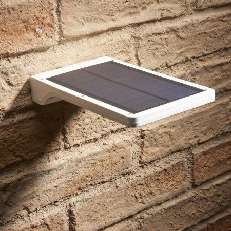 Auraglow Solar Powered Motion Detection & Daylight Sensor Panel Light