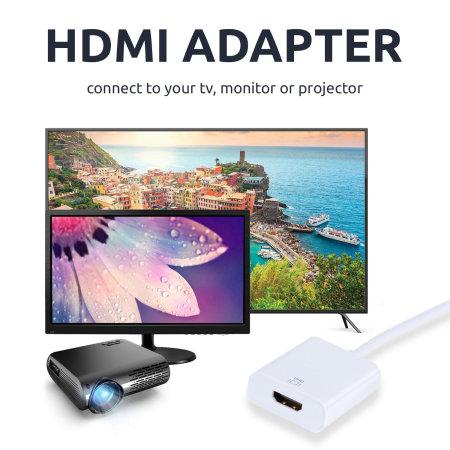 Vivanco USB-C To HDMI 4K 60Hz Adapter - White