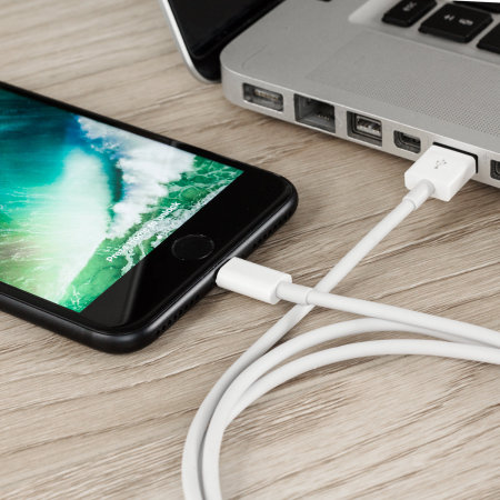 Olixar iPhone XR Extra Long Lightning Charge and Sync Cable - 3m