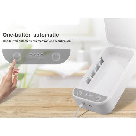 4smarts MyGuard Universal Smartphone Sterilizer & Charger - White