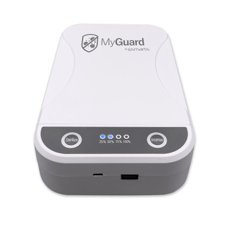 4smarts MyGuard Universal Smartphone Sterilizer & Charger - White