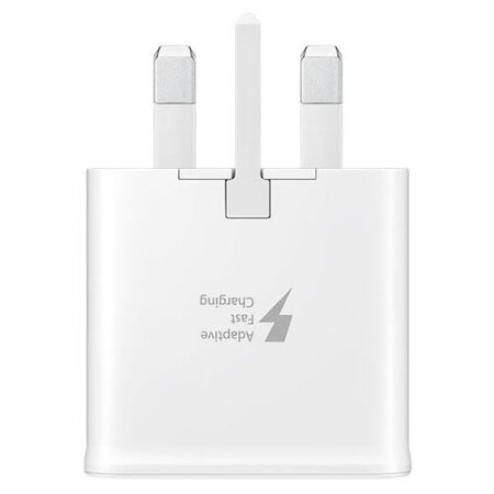 Official Samsung Adaptive Fast Charger & USB-C Cable - White