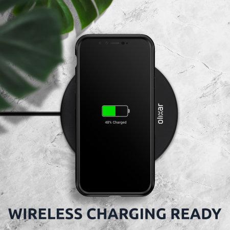Olixar NovaShield OnePlus 8 Pro Bumper Case - Black