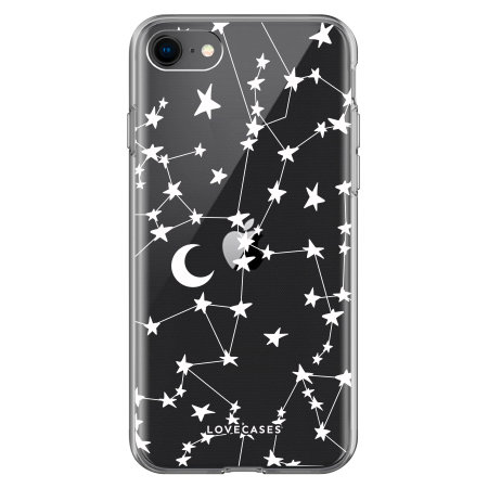 LoveCases iPhone SE 2020  Starry Case - Clear