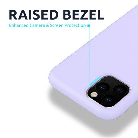 Olixar iPhone SE 2020 Soft Silicone Case - Lilac