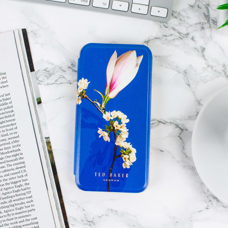 Ted Baker Bryony iPhone SE 2020 Mirror Folio Case - Harmony Mineral