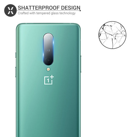 Olixar Oneplus 8 Camera Protector - Twin Pack