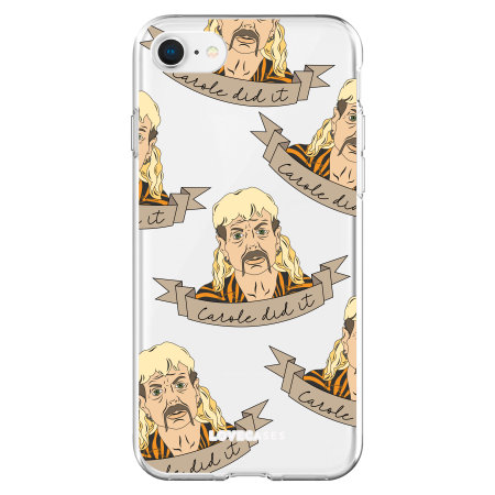 LoveCases iPhone SE 2020 Tiger King Range 'Carole Did It' Case