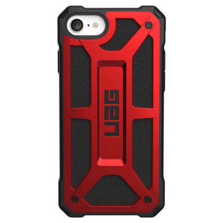 UAG Monarch Apple iPhone SE 2020 Tough Case - Crimson