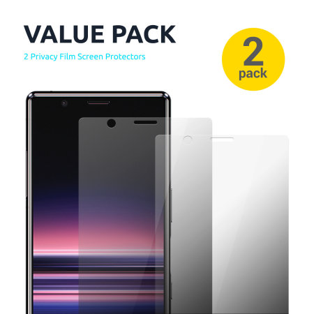"""Olixar iPad Pro 12.9"""" 2020 Privacy Film Screen Protector 2-in-1 Pack"""