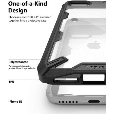 Ringke Fusion X iPhone 7 / 8 Case - Black