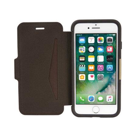 OtterBox Strada iPhone 7 / 8 Folio Case - Espresso Brown