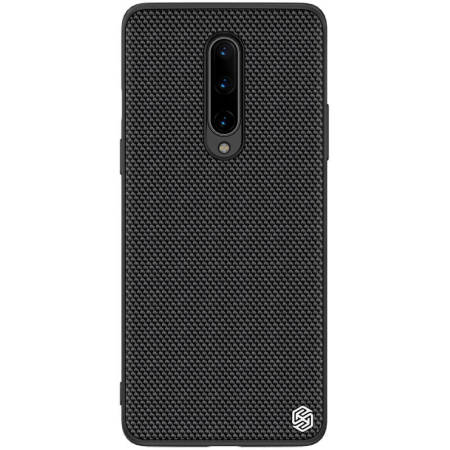 Nillkin OnePlus 8 Nylon Fibre Ultra-Thin Textured Case  - Black