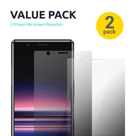 Olixar OnePlus 8 Privacy TPU Film Screen Protector 2 In 1 Pack