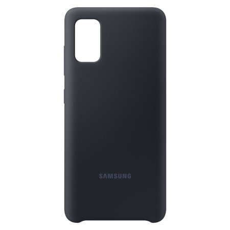 Official Samsung Galaxy A41 Silicone Cover Case - Black