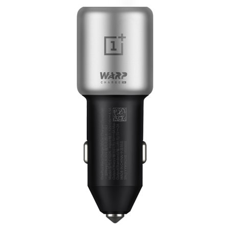 Official OnePlus Warp Charge 30W Car Charger & 1m USB-C Cable - Grey