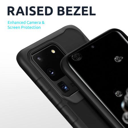 Olixar NovaShield Google Pixel 4a Bumper Case - Black