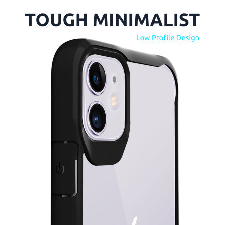 Olixar NovaShield iPhone 8 Bumper Case - Clear