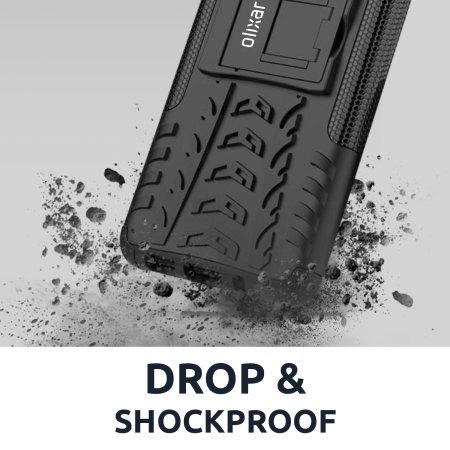 Olixar ArmourDillo iPhone 8 Protective Case - Black