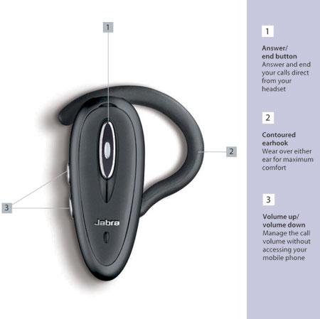 jabra bt150 bluetooth headset rh mobilefun co uk Jabra Headset Adapters Jabra Headset Earpiece