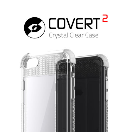 Ghostek Covert 2 iPhone SE 2020 Tough Case - Clear / White