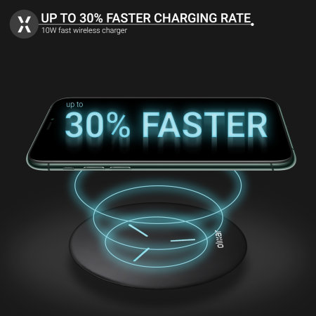 Olixar iPhone SE 2020 Slim 10W Fast Wireless Charging Pad