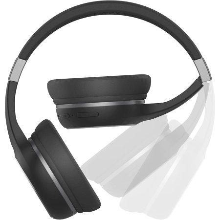 Motorola Escape 220 Over-Ear HD Wireless Headphones - Black