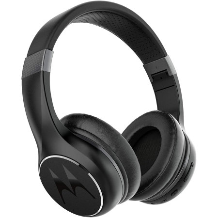 Motorola Escape 220 Over-Ear HD Wireless Headphones - Black