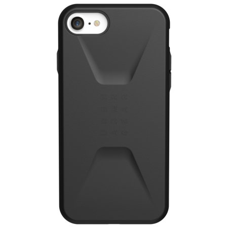 UAG Civilian Series iPhone SE 2020 Tough Case - Black
