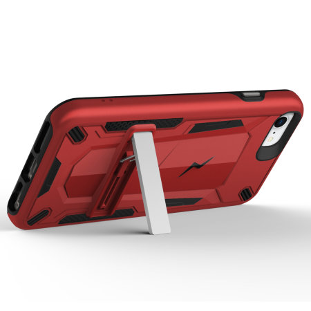 Zizo Transform Series iPhone SE 2020 Case - Red