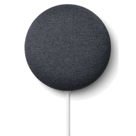 Google Nest Mini (2nd Gen) Smart Home Assistance Speaker - Charcoal