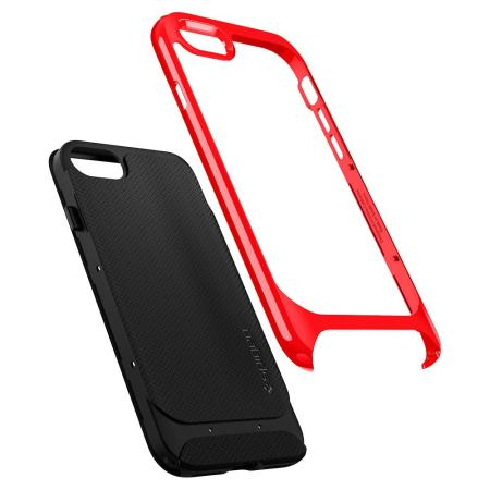 Spigen Neo Hybrid Herringbone iPhone 7 / 8 Case - Dante Red