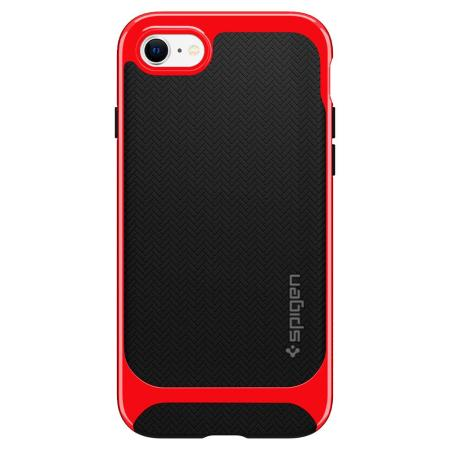 Spigen Neo Hybrid Herringbone iPhone SE 2020 Case - Dante Red