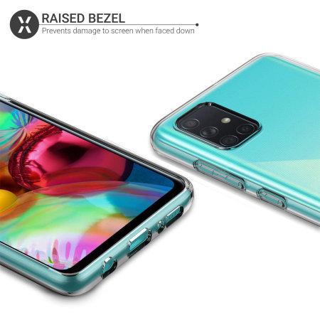 Olixar Ultra-Thin Samsung Galaxy A51 5G Case - 100% Clear