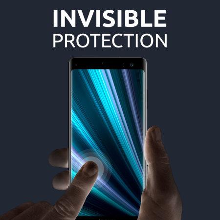 Olixar Samsung Galaxy A41 Film Screen Protector 2-in-1 Pack