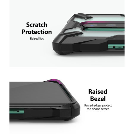 Ringke Fusion X OnePlus 8 Pro Case - Black