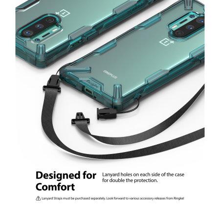 Ringke Fusion X OnePlus 8 Pro Case - Turquoise Green