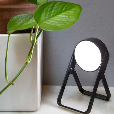 Kikkerland Foldable LED Spot Light With Kickstand - Black