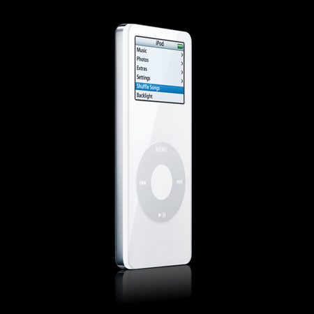 apple ipod nano 2gb white. Black Bedroom Furniture Sets. Home Design Ideas
