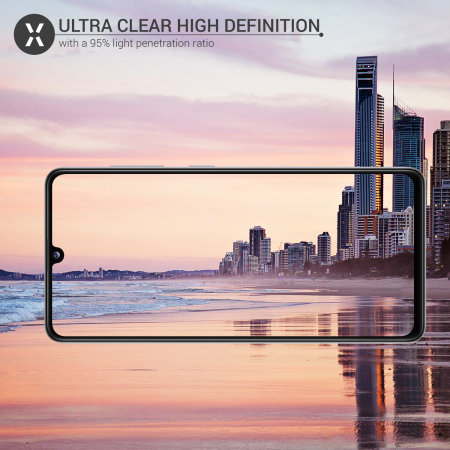 Olixar Samsung Galaxy A41 Tempered Glass Camera Protectors - Twin Pack