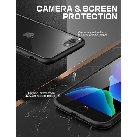 i-Blason Unicorn Beetle Style iPhone SE 2020 Case - Black