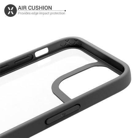 Olixar NovaShield iPhone 12 Pro Max Bumper Case - Black